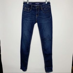Vigoss New York Skinny Jeans Flap Pocket Size 26